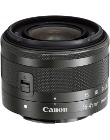 Canon EF-M 15-45mm f/3.5-6.3 IS STM MILC Wide zoom lens Grafiet