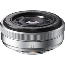 Fujifilm XF27mm F2.8 Silver PH