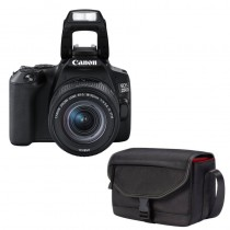 Canon EOS 250D Zwart + 18-55mm IS STM + Tas