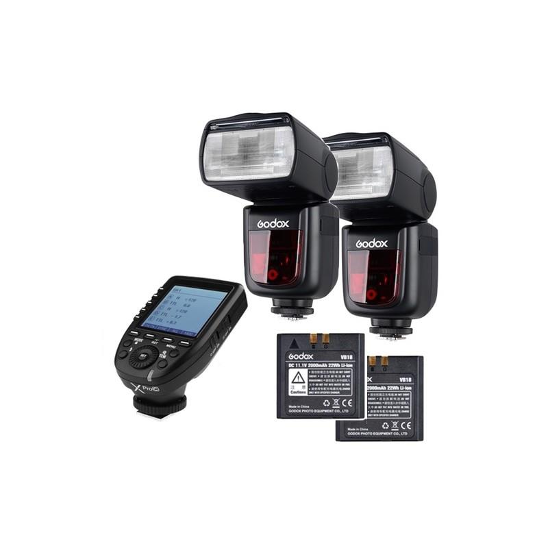Godox Speedlite V860II Olympus/Panasonic X PRO Duo kit