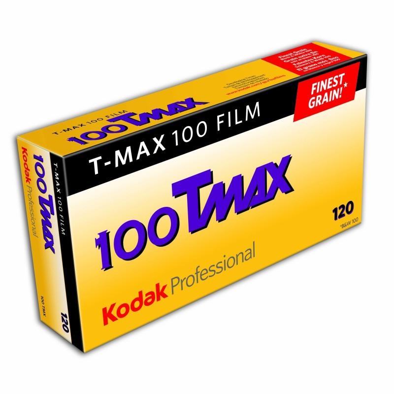 Kodak TMax 100 120 5-pack