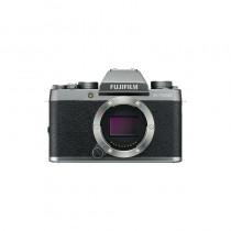 FUJIFILM X-T100 DARK SILVER + XC35mm F2 zwart