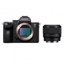 Sony A7 III + Sony FE 50mm f1.8