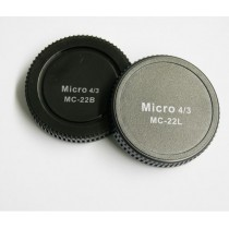 Pixel Lens Rear Cap MC-22B + Body Cap MC-22L voor MFT