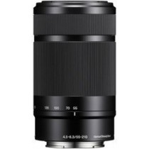 Sony E 55-210mm f4.5-6.3 OSS zwart