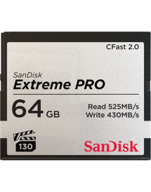 SanDisk CFast Extreme Pro 2.0 64GB VPG 130 525MB/s
